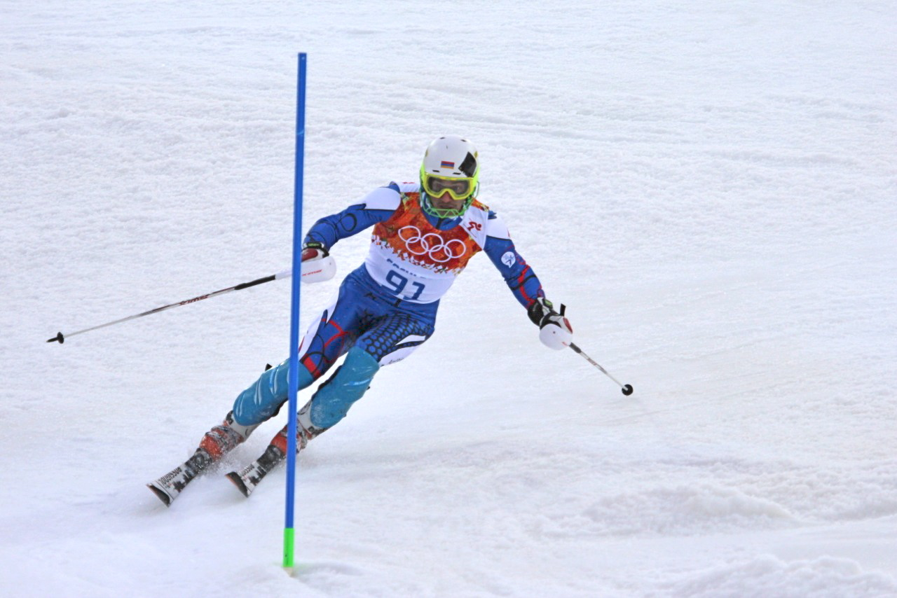 Sochi Olympic slalom