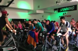 NYC spin-a-thon success, June 2013!